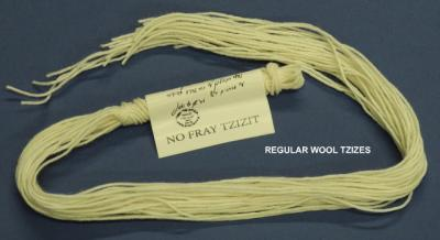 Wool Tzizes by the bundle